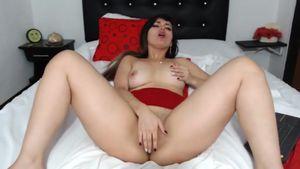 Hot Teasing And Masturbation