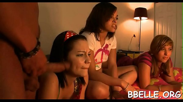 Brandi Belle Gets A Cock In Her Mouth And Pussy While Playing Video Games With Friends