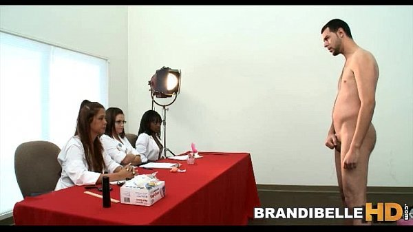 BRANDI BELLE – Three Nurses Examine A Small Cock Before One Of Them Gets Fucked