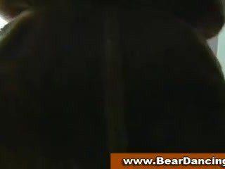Ordinary Horny CFNM Babes At Bear Dancing Party