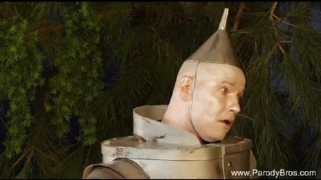 Tin Man Gives The Witch What She Deserves – Stiff Cock In Her CFNM Muff