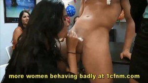 Shocking Footage With CFNM Office Girls Birthday Party