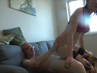 CFNM Pervert Ulf Get Sucked And Teased By Younger Slut
