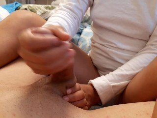CFNM Shy Girl Uses Her Soft Hands To Jerk Off My Huge Dong