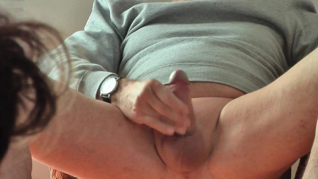 CFNM Wife In Stocking Watch Guy Masturbation