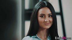 EROTICA X – Cute girl fucks her boss
